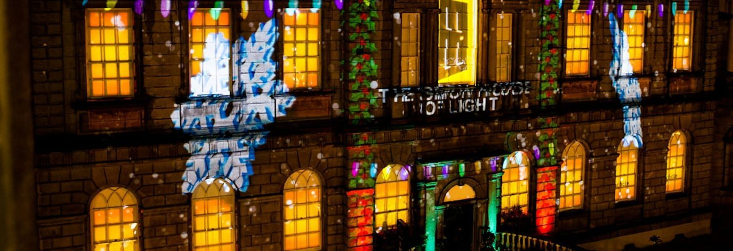 The Simon House of Light Festival at Powerscourt Centre
