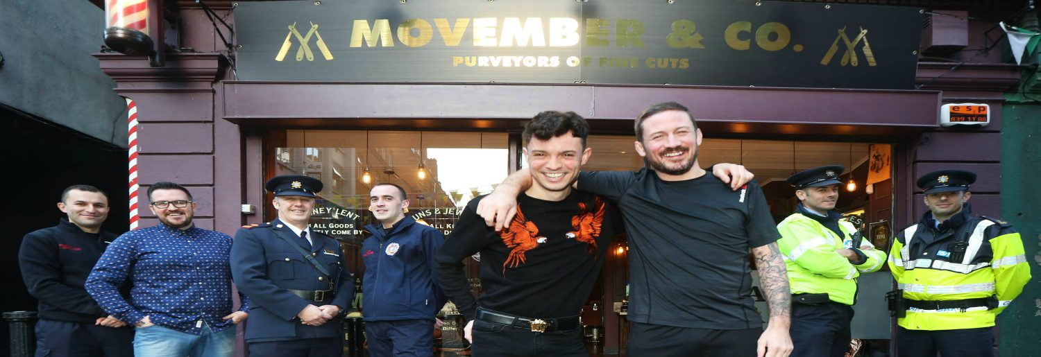Kavanagh Mo Bros Unite To Launch Movember 2017