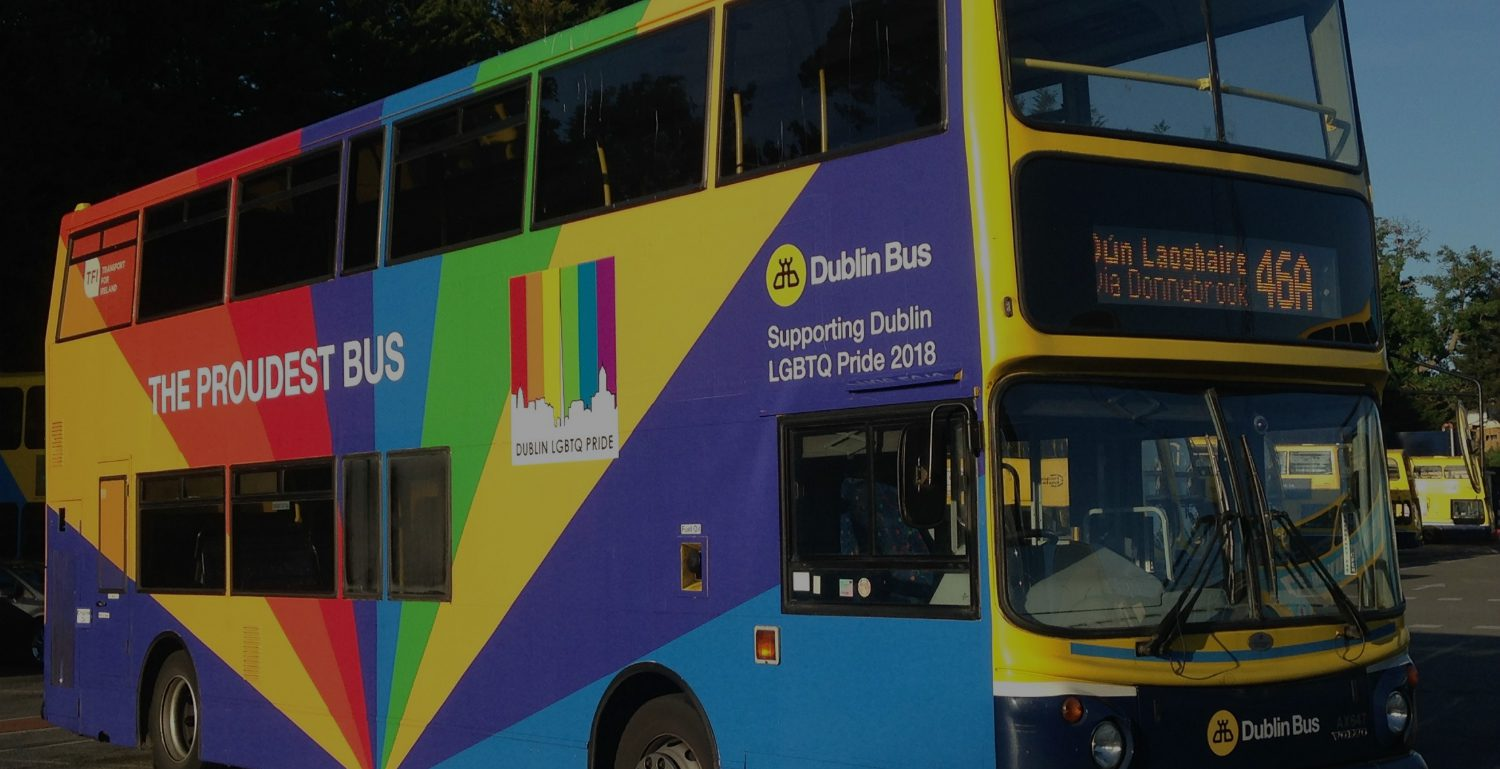The Proudest Dublin Bus Will Lead the Dublin Pride Parade 2018