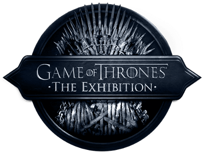 Game of Throne the exhibition logo scaled 400 wide