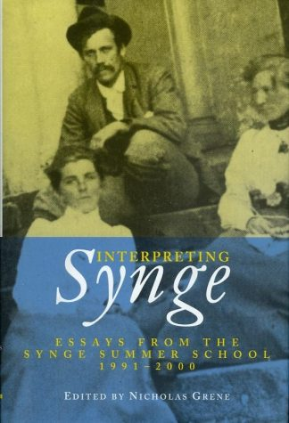 Interpreting Synge: Essays from the Synge Summer School, 1991-2000 by Nicholas Green Lilliput Press book cover
