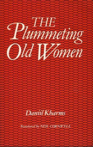 The Plummeting Old Women by Daniil Kharms and Neil Cornwell Lilliput Press book cover