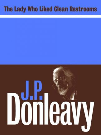 The Lady Who Liked Clean Restrooms by JP Donleavy published by Lilliput Press book cover