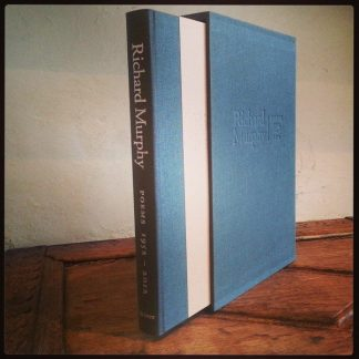Richard Murphy Poems 1952-2012 Limited Edition Lilliput Press Signed Copies Book Cover A-Z