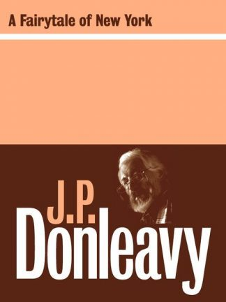 A Fairy Tale of New York by JP Donleavy published by Lilliput Press book cover