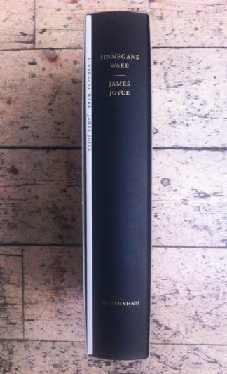 Finnegans Wake Standard Limited Edition by James Joyce Lilliput Press book cover