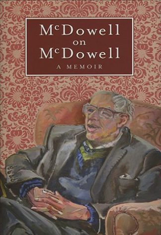 RB McDowell On McDowell Lilliput Press Book Cover