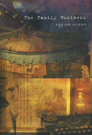 The Family Business by Adrian Kenny Lilliput Press book cover