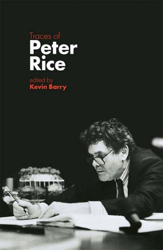 Traces of Peter Rice Kevin Barry Book Cover