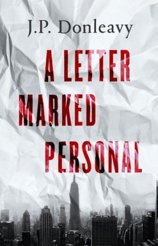 book cover letter marked personal jp Donleavy