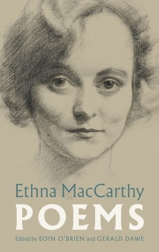 book cover Ethna MacCarthy Poems