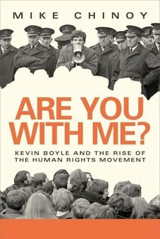 Are You With Me Kevin Boyle Mike Chinoy Book Cover