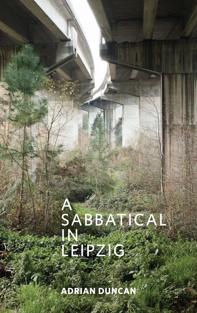 A Sabbatical in Leipzig Book Cover Adrian Duncan Engineer