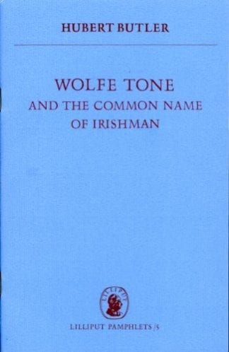 Book cover of Wolfe Tone by Hubert Butler