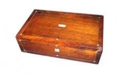 19th Century Rosewood Writing Slope