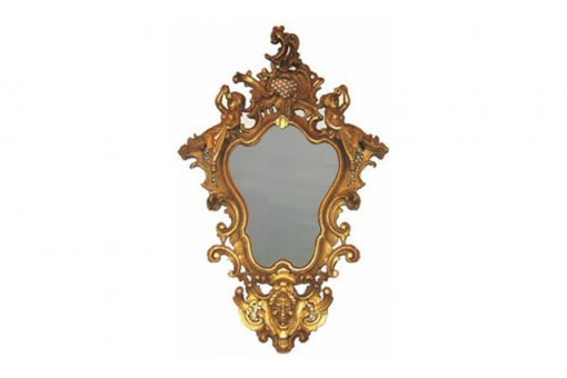 Early 19th Century Regency Carved Gilt Wall Mirror