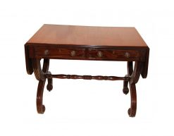 19th Century Mahogany Sofa Table