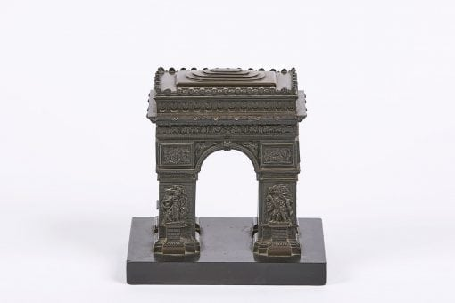 8193 - 19th Century Bronze in the form of the Arc de Triomphe, Paris