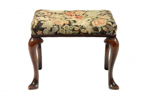 19th Century William IV Mahogany Stool