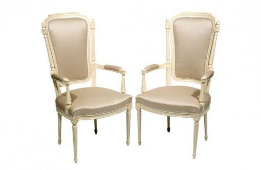 19th Century Pair of French Salon Chairs