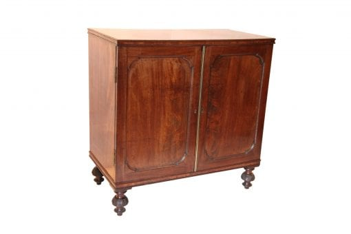 19th Century Mahogany Collectors Chest