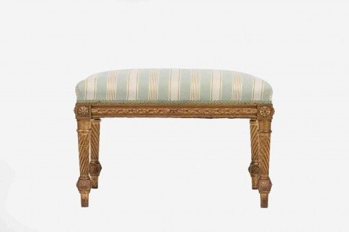 Early 19th Century Giltwood stool