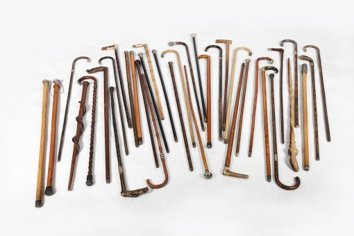 Collection of Late 19th Century and Early 20th Century Walking Sticks