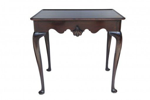 18th Century George III Irish Mahogany Silver Table