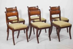 19th Century Regency Set of Six Dining Chairs