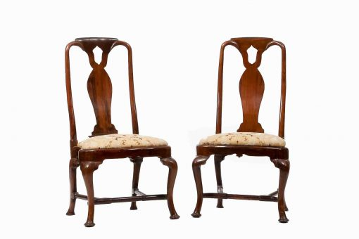 18th Century Queen Anne Walnut Side Chairs