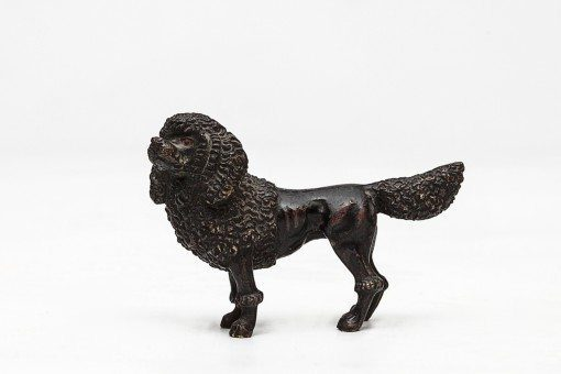 19th Century Bronze Poodle