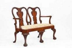 Early 19th Century Walnut Chair-back Settee