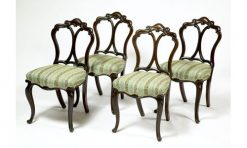 Mid 19th Century Set of Six Rosewood Dining Chairs