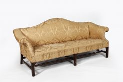 Early 19th Century Camelback Sofa