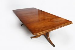 Early 19th Century Regency Mahogany Dining Table
