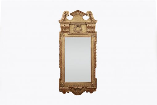9818 – 18th Century Giltwood Pier Mirror in the Palladian Style