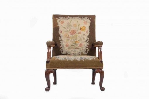 19th Century Gainsborough Armchair