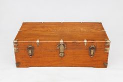 19th Century Camphor-Wood Chest