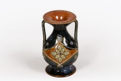 19th Century Royal Doulton Lambeth Stoneware Vase