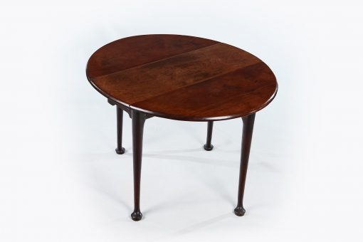 18th Century Miniature Mahogany Drop Leaf Table