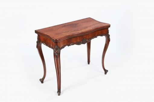 Early 19th Century George III Mahogany Games Table