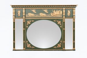 Early 19th Century Regency Giltwood Overmantle Mirror