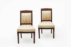 19th Century Pair of Biedermeier Chairs