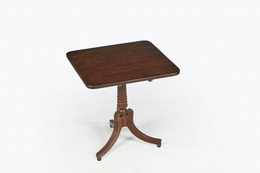 10262 - 19th Century Mahogany Tip Up Table