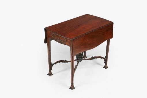 10267 - 18th Century Mahogany Pembroke Table after Chippendale