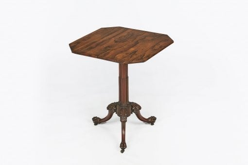 10289 - 19th Century Mahogany Tip Up Table after Chippendale
