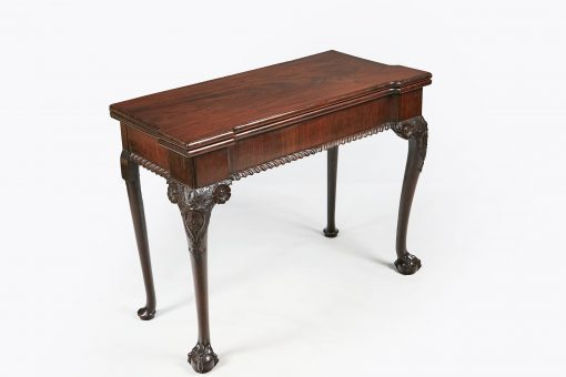 10303 - Early 19th Century George III Mahogany Card Table