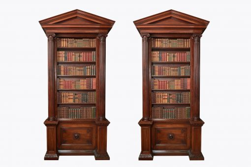 10239 - Early 19th Century Regency Bookcases after Robert Adams