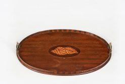 10051 - Early 19th Century George III Mahogany Tray