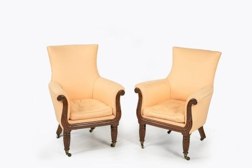 10370 - Early 19th Century Regency Pair of Chairs after Gillows